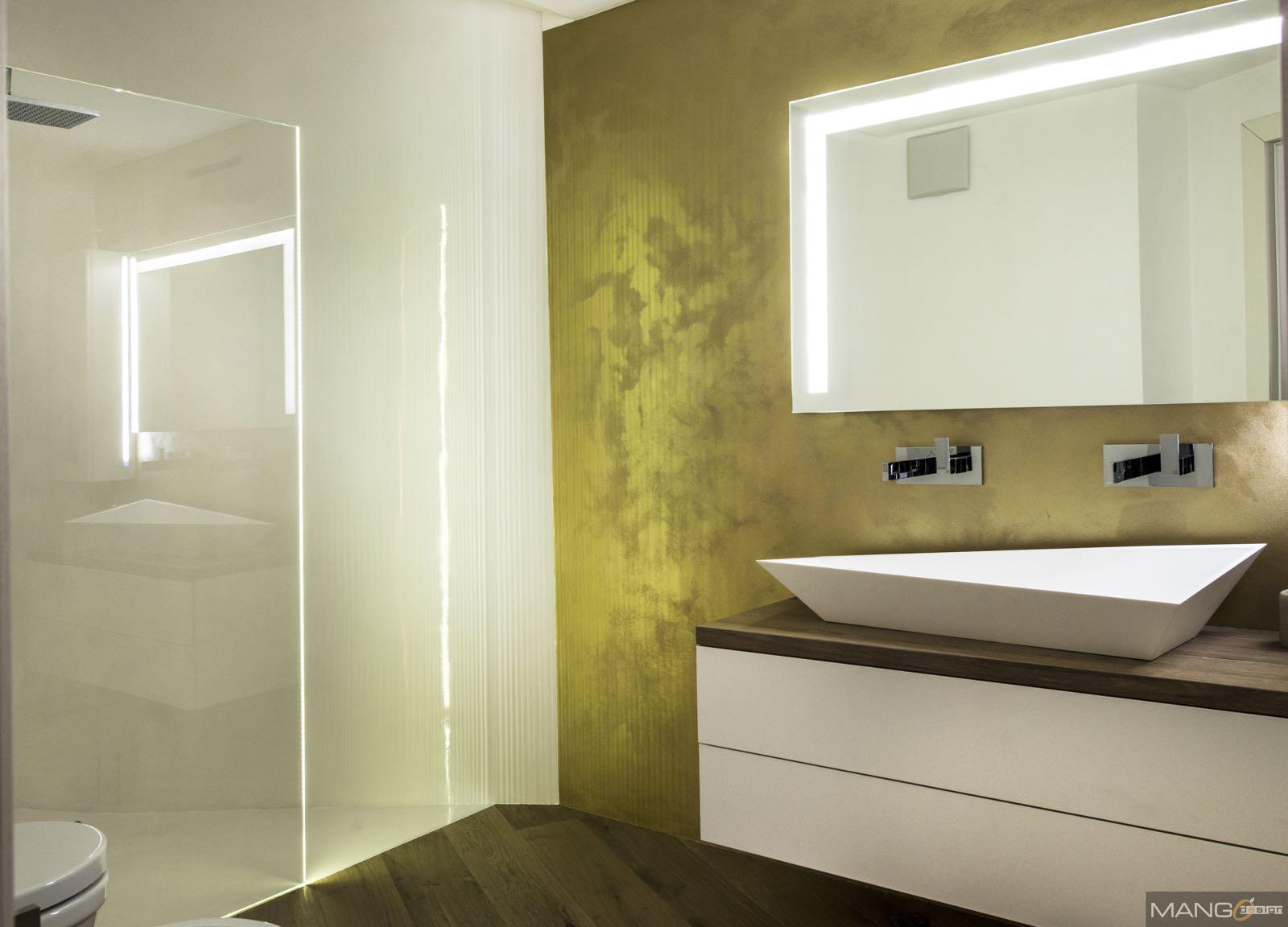 Falegnameria gasperi design e tradizione - Rubinetteria bagno bianco oro ...